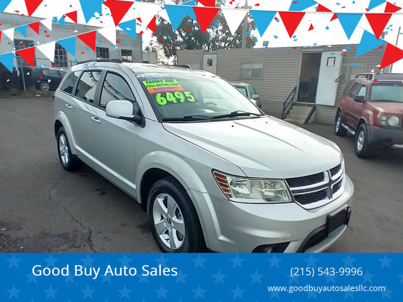 2012 Dodge Journey for sale at Good Buy Auto Sales in Philadelphia PA