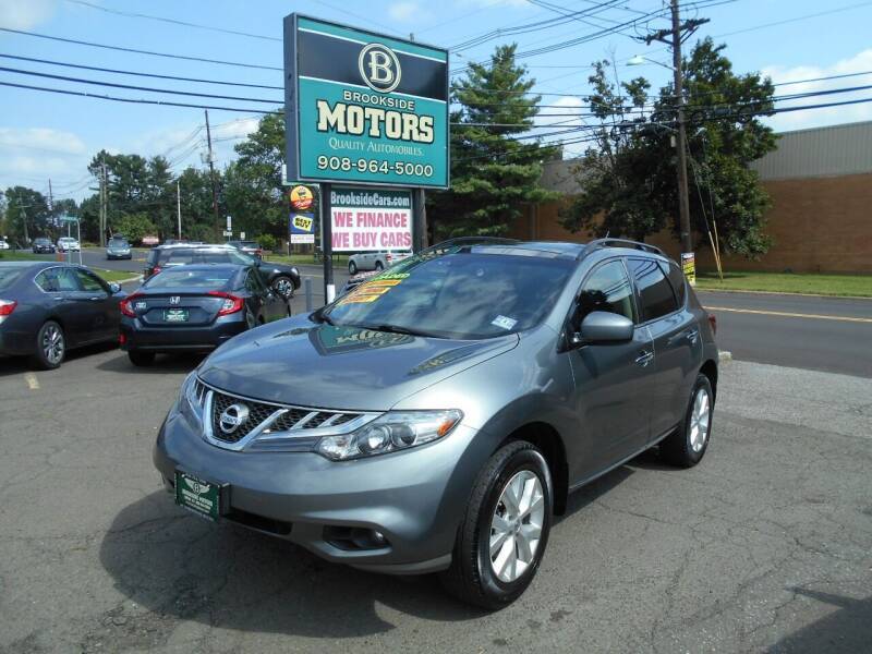 2014 Nissan Murano for sale at Brookside Motors in Union NJ