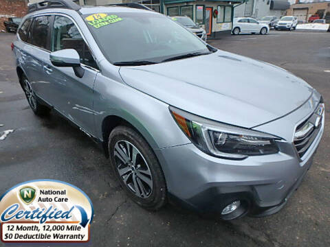 2018 Subaru Outback for sale at Jon's Auto in Marquette MI