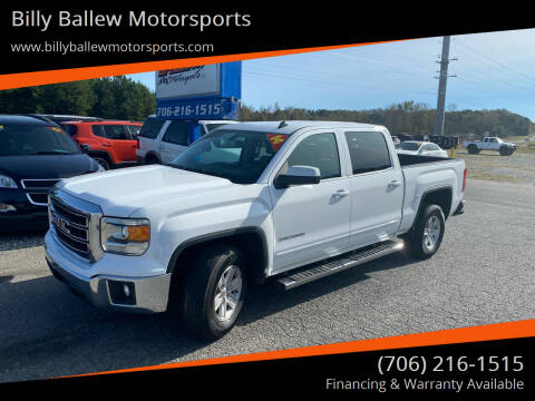 2014 GMC Sierra 1500 for sale at Billy Ballew Motorsports in Dawsonville GA