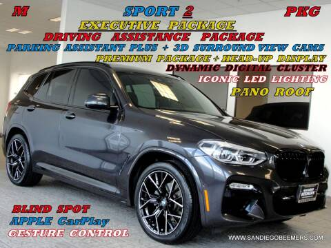 2019 BMW X3 for sale at SAN DIEGO BEEMERS in San Diego CA