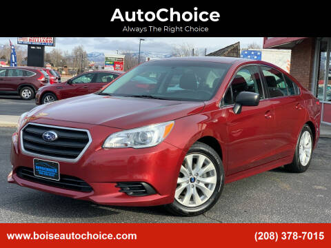 2017 Subaru Legacy for sale at AutoChoice in Boise ID