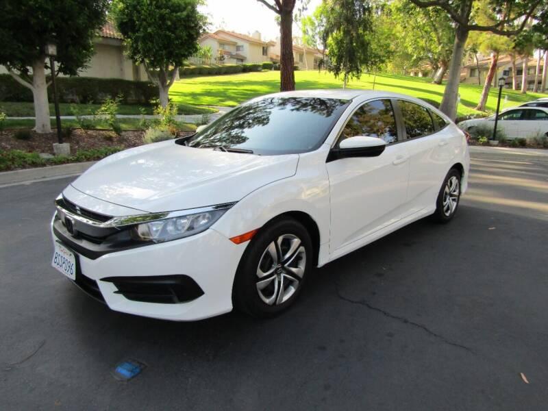 2017 Honda Civic for sale at E MOTORCARS in Fullerton CA