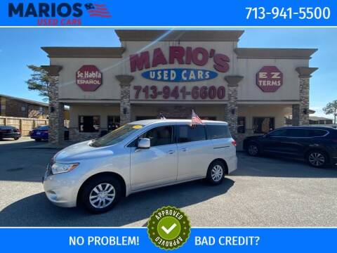 2013 Nissan Quest for sale at Mario's Used Cars - Pasadena Location in Pasadena TX