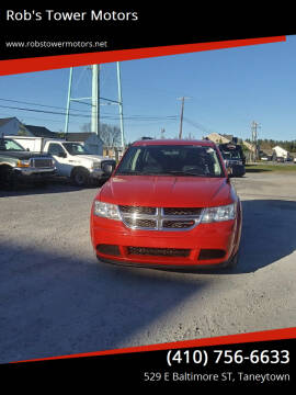 2014 Dodge Journey for sale at Rob's Tower Motors in Taneytown MD