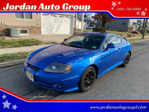 2004 Hyundai Tiburon for sale at Jordan Auto Group in Paterson NJ