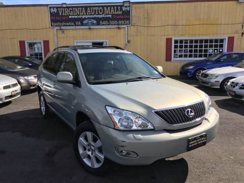 2005 Lexus RX 330 for sale at Virginia Auto Mall in Woodford VA