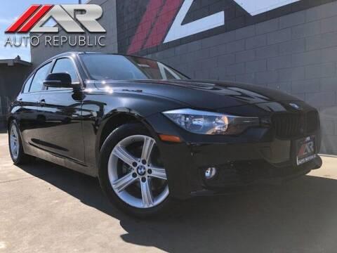 2012 BMW 3 Series for sale at Auto Republic Fullerton in Fullerton CA