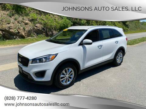 2016 Kia Sorento for sale at Johnsons Auto Sales, LLC in Marshall NC