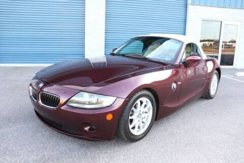 2005 BMW Z4 for sale at Classic Car Deals in Cadillac MI