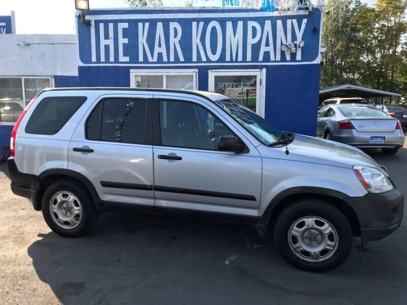 2005 Honda CR-V for sale at The Kar Kompany Inc. in Denver CO
