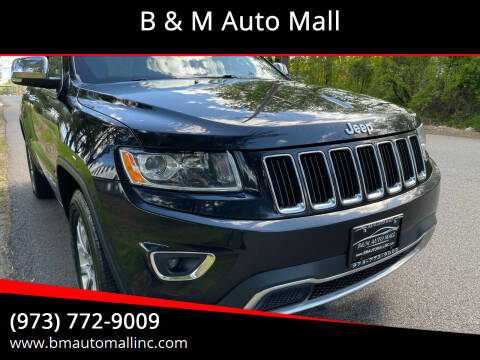 2014 Jeep Grand Cherokee for sale at B & M Auto Mall in Clifton NJ