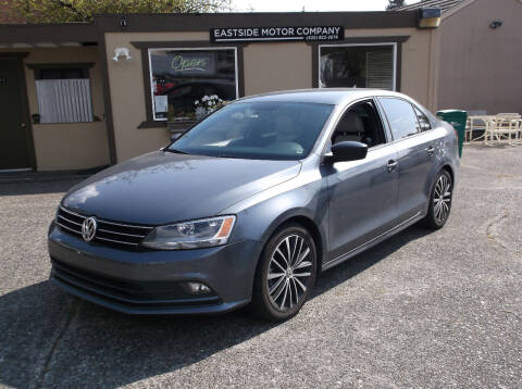 2016 Volkswagen Jetta for sale at Eastside Motor Company in Kirkland WA