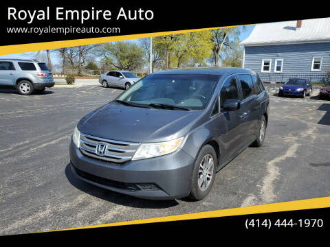 2012 Honda Odyssey for sale at Royal Empire Auto in Milwaukee WI