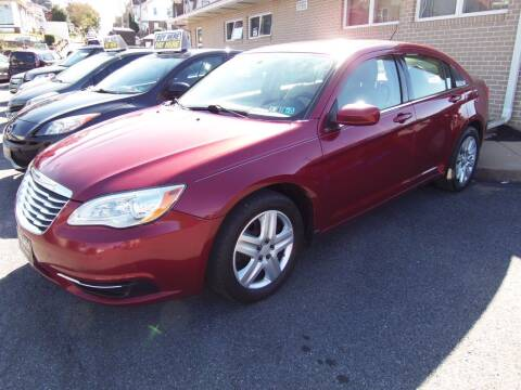 2013 Chrysler 200 for sale at Fulmer Auto Cycle Sales - Fulmer Auto Sales in Easton PA