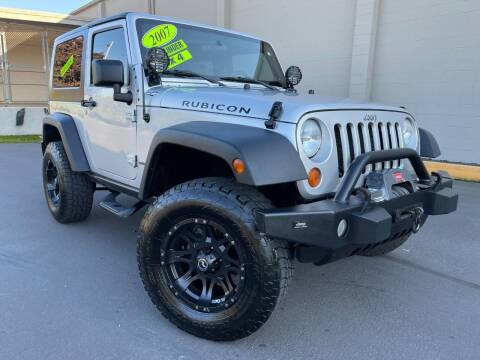 2007 Jeep Wrangler for sale at Xtreme Truck Sales in Woodburn OR