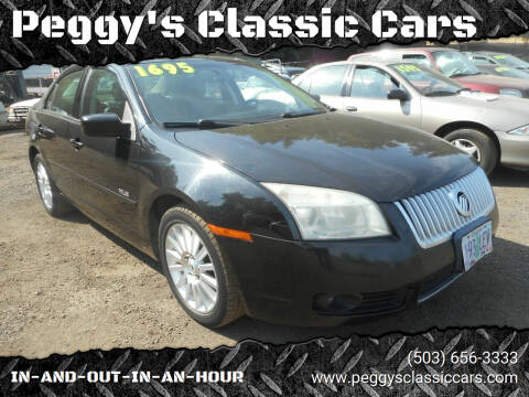 2007 Mercury Milan for sale at Peggy's Classic Cars in Oregon City OR
