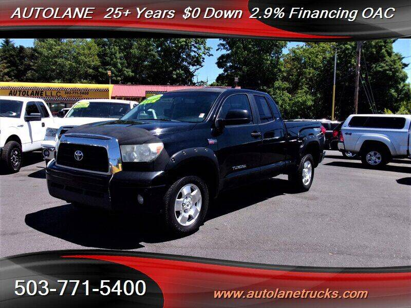 2007 Toyota Tundra for sale at Auto Lane in Portland OR