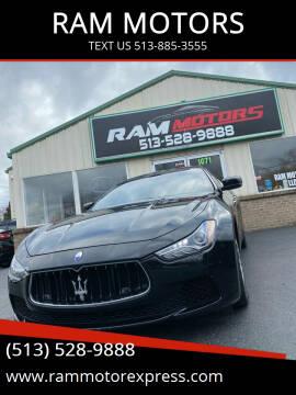 2014 Maserati Ghibli for sale at RAM MOTORS in Cincinnati OH