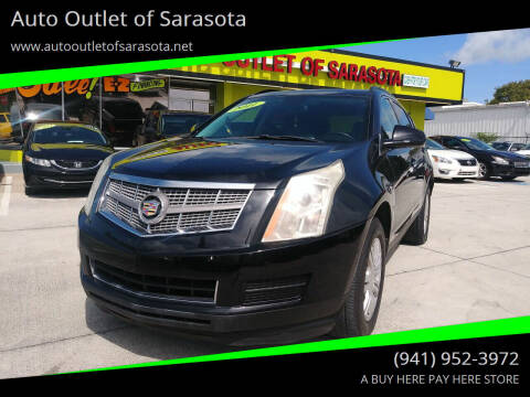 2010 Cadillac SRX for sale at Auto Outlet of Sarasota in Sarasota FL