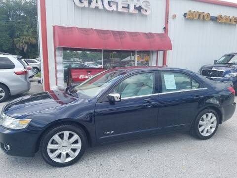 2008 Lincoln MKZ for sale at Gagel's Auto Sales in Gibsonton FL
