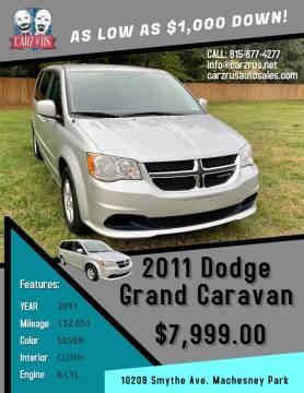 2011 Dodge Grand Caravan for sale at Carz R Us in Machesney Park IL