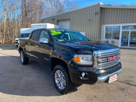 2016 GMC Canyon for sale at Auto Towne in Abington MA