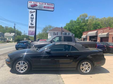 2007 Ford Mustang for sale at 401 Auto Sales & Service in Smithfield RI