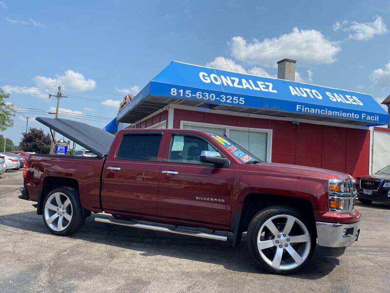 2014 Chevrolet Silverado 1500 for sale at Gonzalez Auto Sales in Joliet IL