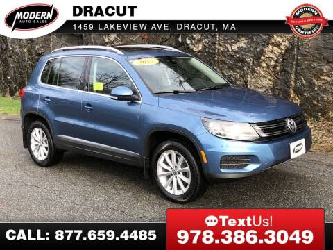 2017 Volkswagen Tiguan for sale at Modern Auto Sales in Tyngsboro MA