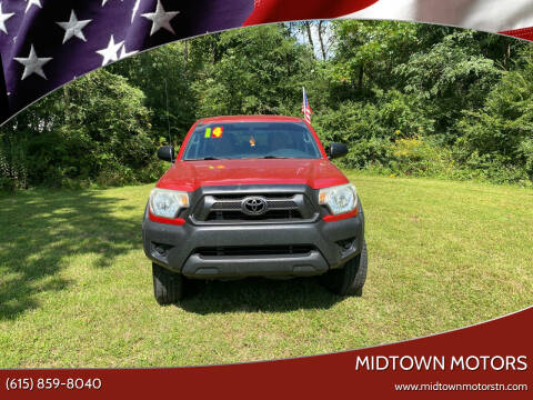 2014 Toyota Tacoma for sale at Midtown Motors in Greenbrier TN