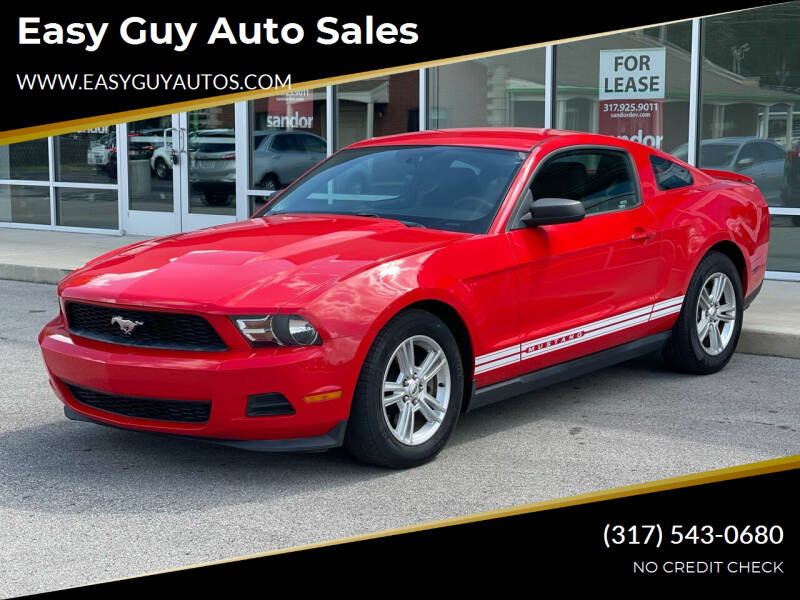 2012 Ford Mustang for sale at Easy Guy Auto Sales in Indianapolis IN