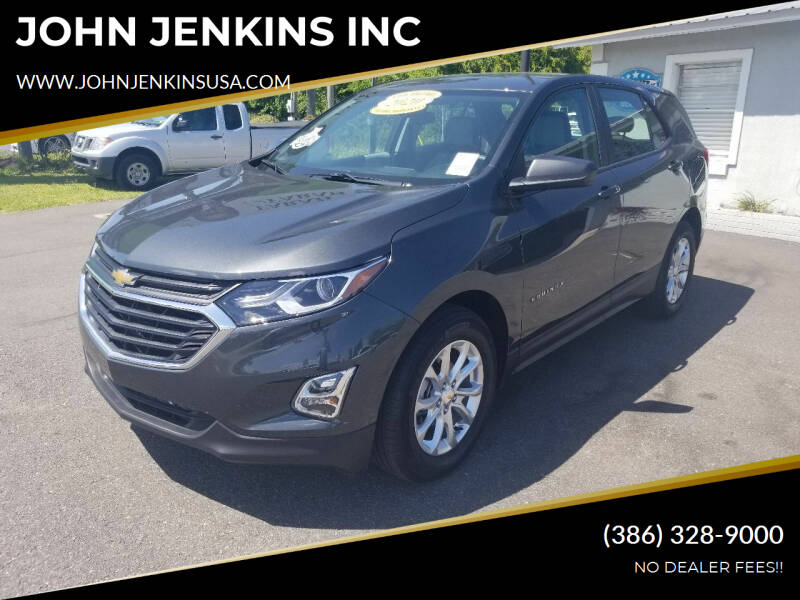 2020 Chevrolet Equinox for sale at JOHN JENKINS INC in Palatka FL