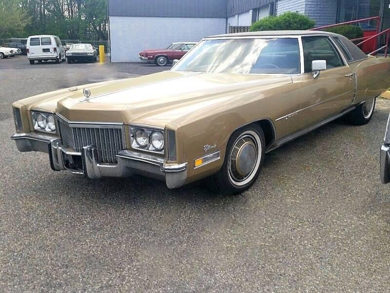 1972 Cadillac Eldorado for sale at Black Tie Classics in Stratford NJ