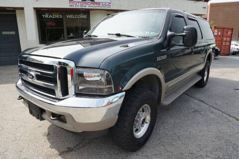 2000 Ford Excursion for sale at PA Motorcars in Conshohocken PA