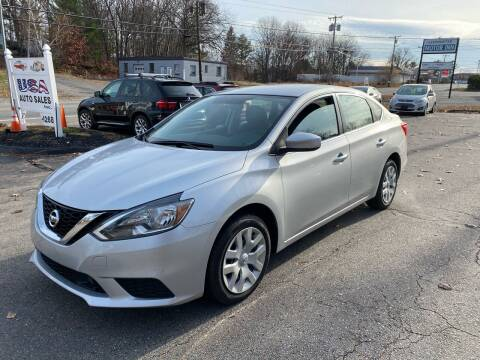2019 Nissan Sentra for sale at USA Auto Sales in Leominster MA