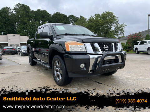 2015 Nissan Titan for sale at Smithfield Auto Center LLC in Smithfield NC
