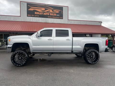 2016 GMC Sierra 2500HD for sale at Ridley Auto Sales, Inc. in White Pine TN