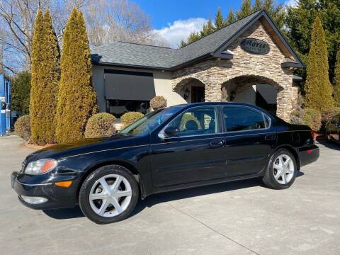 2002 Infiniti I35 for sale at Hoyle Auto Sales in Taylorsville NC