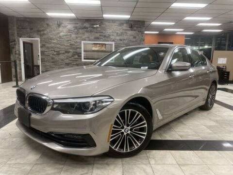 2018 BMW 5 Series for sale at Sonias Auto Sales in Worcester MA
