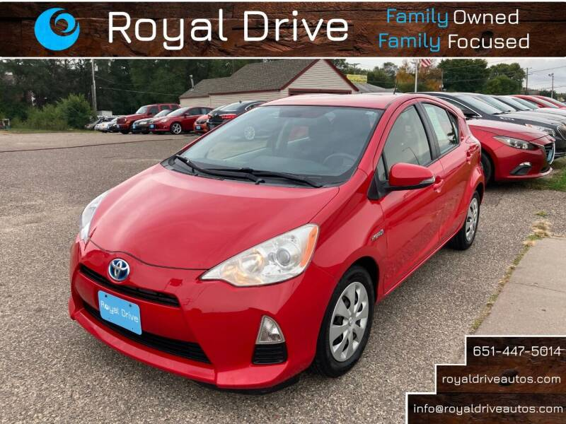 2013 Toyota Prius c for sale at Royal Drive in Newport MN