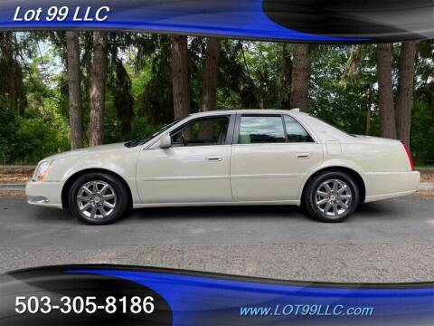 2011 Cadillac DTS for sale at LOT 99 LLC in Milwaukie OR