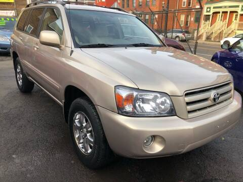2007 Toyota Highlander for sale at James Motor Cars in Hartford CT