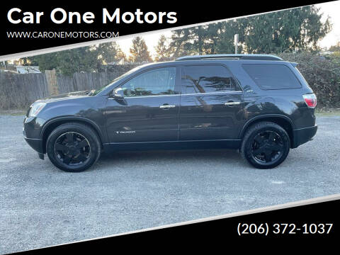 2007 GMC Acadia for sale at Car One Motors in Seattle WA