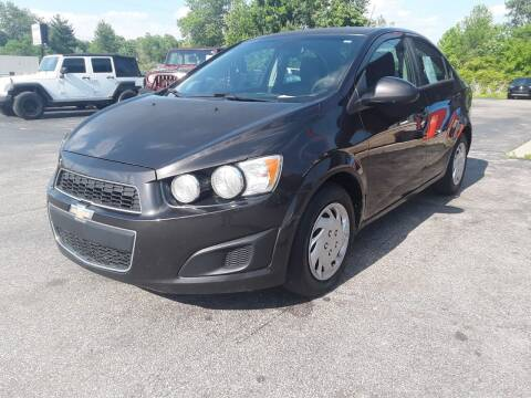 2014 Chevrolet Sonic for sale at Cruisin' Auto Sales in Madison IN