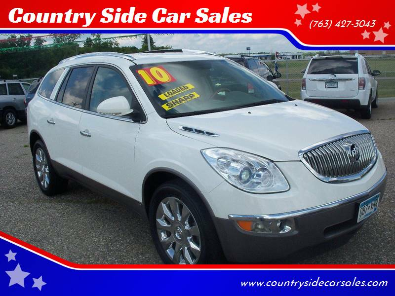 2010 Buick Enclave for sale at Country Side Car Sales in Elk River MN