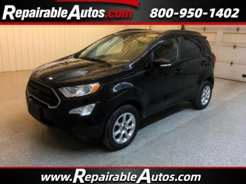 2018 Ford EcoSport for sale at Ken's Auto in Strasburg ND