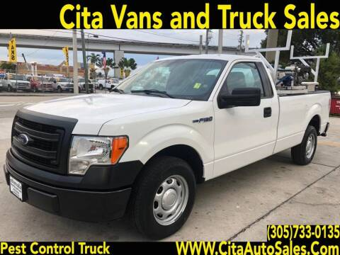2013 FORD F-150 LONG BED PEST PEST CONTROL TRUCK F150 for sale at Cita Auto Sales in Medley FL