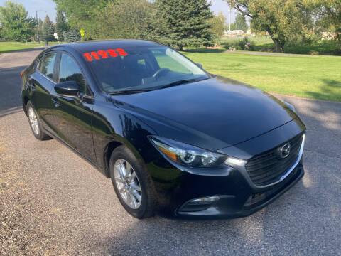 2017 Mazda MAZDA3 for sale at BELOW BOOK AUTO SALES in Idaho Falls ID