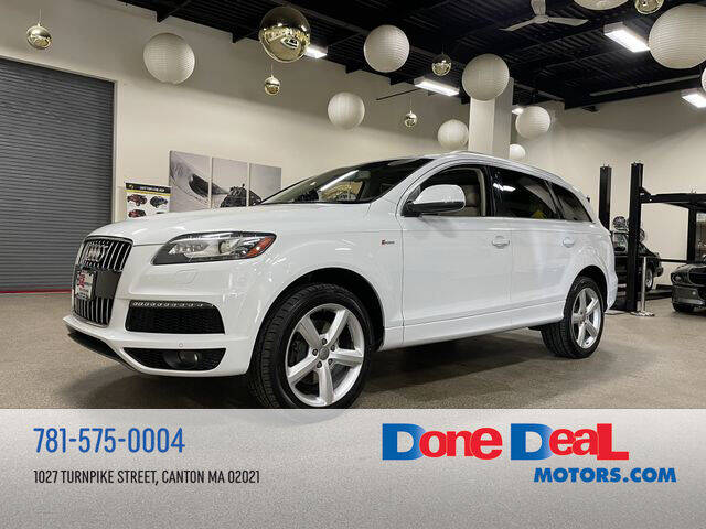 2014 Audi Q7 for sale at DONE DEAL MOTORS in Canton MA